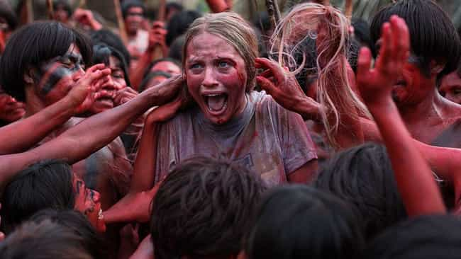 The Green Inferno is listed (or ranked) 3 on the list Pretty Good Horror Movies You Should Never Watch Before Traveling Abroad
