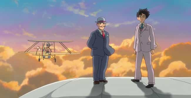 The Wind Rises is listed (or ranked) 8 on the list 16 Random Facts About Anime That Might Just Blow Your Mind