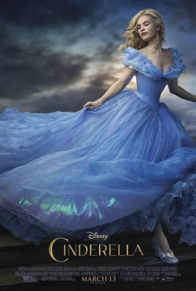 Cinderella is listed (or ranked) 4 on the list The Best Disney Live-Action Remakes Of The Last Few Years, Ranked