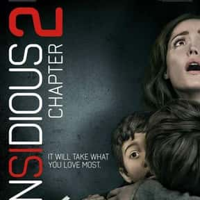 Insidious: Chapter 2 is listed (or ranked) 5 on the list The Best PG-13 Horror Movies