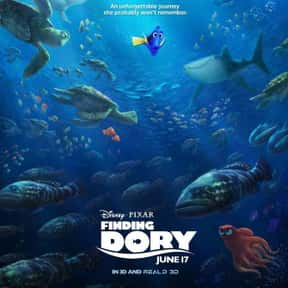 Finding Dory is listed (or ranked) 14 on the list The Best Movies for Toddlers