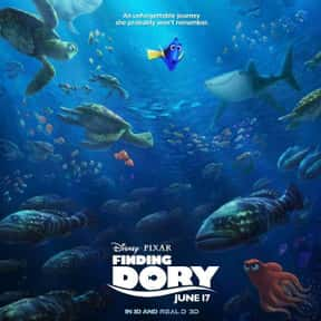 Finding Dory is listed (or ranked) 4 on the list Good Movies for 4-Year-Olds