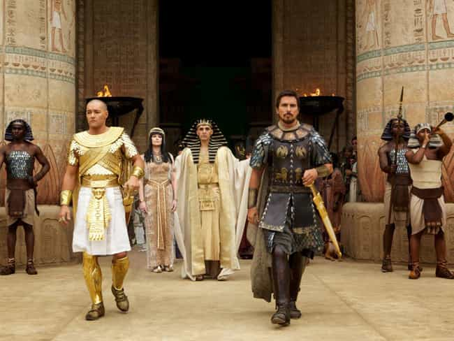 Exodus: Gods and Kings ... is listed (or ranked) 4 on the list These Movies Based On True Stories Totally Changed The Real Peoples' Race