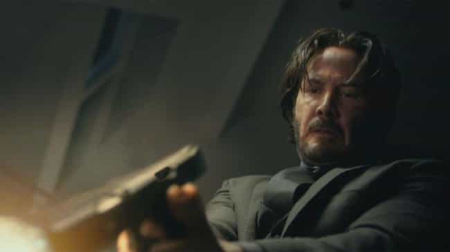 John Wick is listed (or ranked) 1 on the list Keanu Reeves's Coolest Action Movie Moments