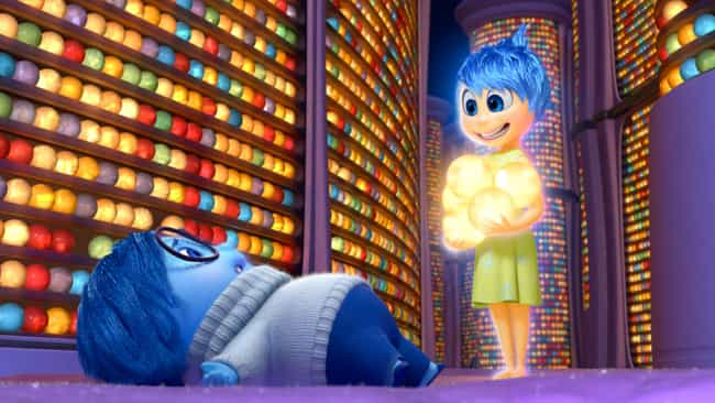Inside Out is listed (or ranked) 3 on the list Pixar Movie Plot Holes You Can't Unsee