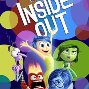 Inside Out is listed (or ranked) 9 on the list Animated Movies That Make You Cry the Most