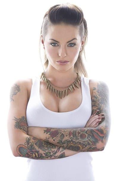 τατουάζ μαύρο πορνοστάρ