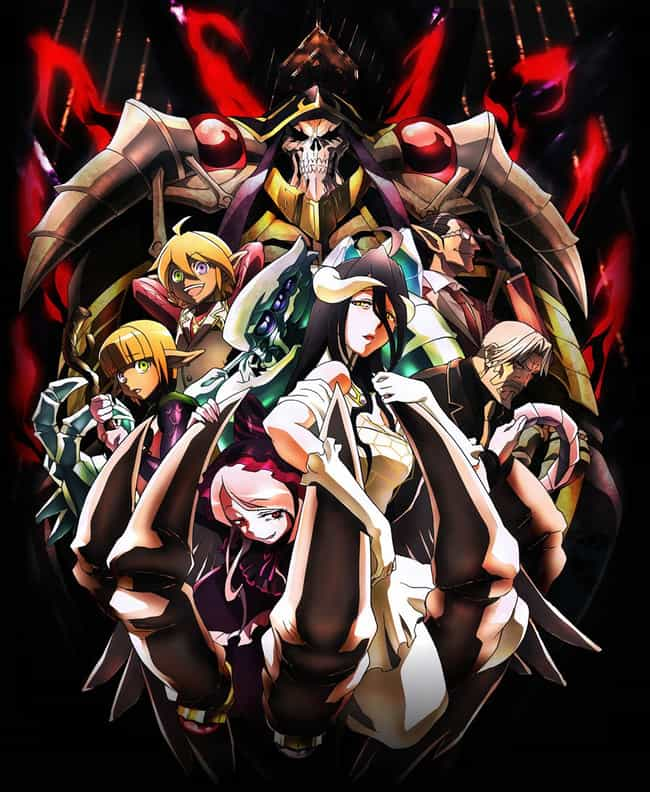 Overlord is listed (or ranked) 2 on the list The Best Virtual Reality Anime