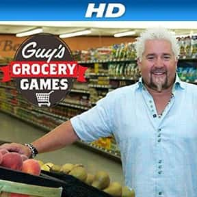 Guy's Grocery Games is listed (or ranked) 22 on the list The Most Watchable Cooking Competition Shows