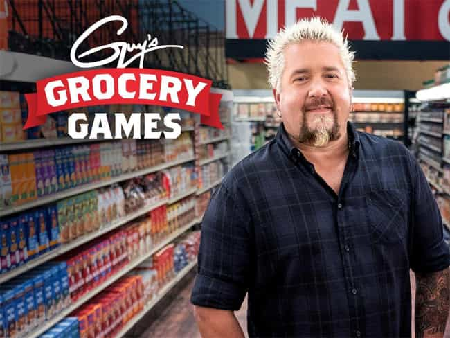 Guy's Grocery Games is listed (or ranked) 1 on the list The Best Guy Fieri Shows