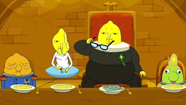 Too Old is listed (or ranked) 4 on the list The Best Lemongrab Episodes of 'Adventure Time'