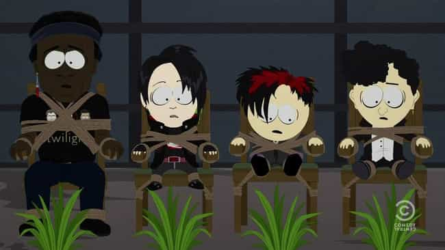 Goth Kids 3: Dawn of the... is listed (or ranked) 1 on the list The Best 'South Park' Episodes Featuring The Goth Kids