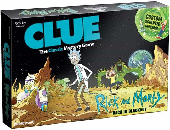 Rick and Morty is listed (or ranked) 4 on the list The Best Editions of Clue