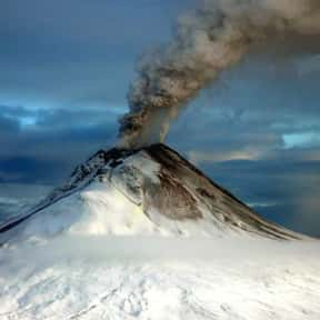 Mount Augustine is listed (or ranked) 13 on the list Volcanoes in the United States