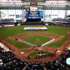 Miller Park is listed (or ranked) 17 on the list The Best MLB Ballparks