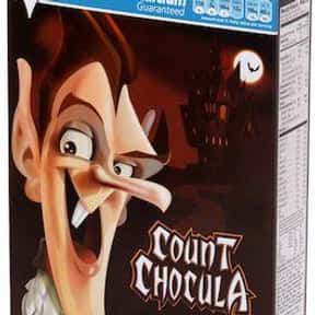 Count Chocula is listed (or ranked) 6 on the list The Best Chocolate Cereal