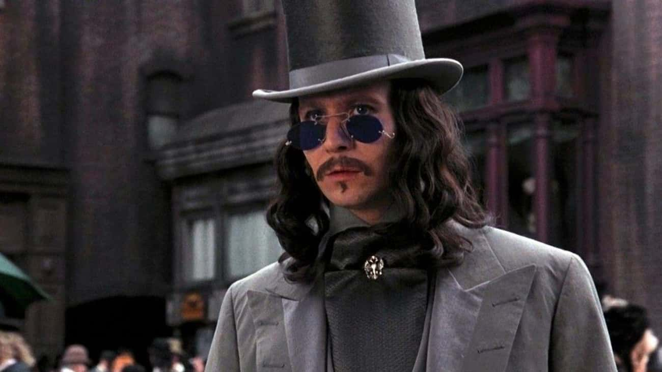 Taurus: Gary Oldman's Dracula is listed (or ranked) 2 on the list What Vampire Would You Be, Based On Your Zodiac