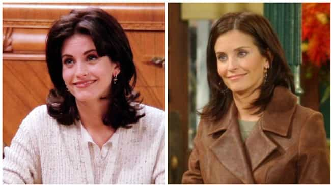 Courteney Cox is listed (or ranked) 3 on the list How the Cast of Friends Aged from the First to Last Season