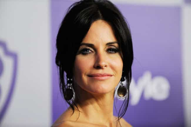 Courteney Cox is listed (or ranked) 2 on the list Famous People Born in 1964