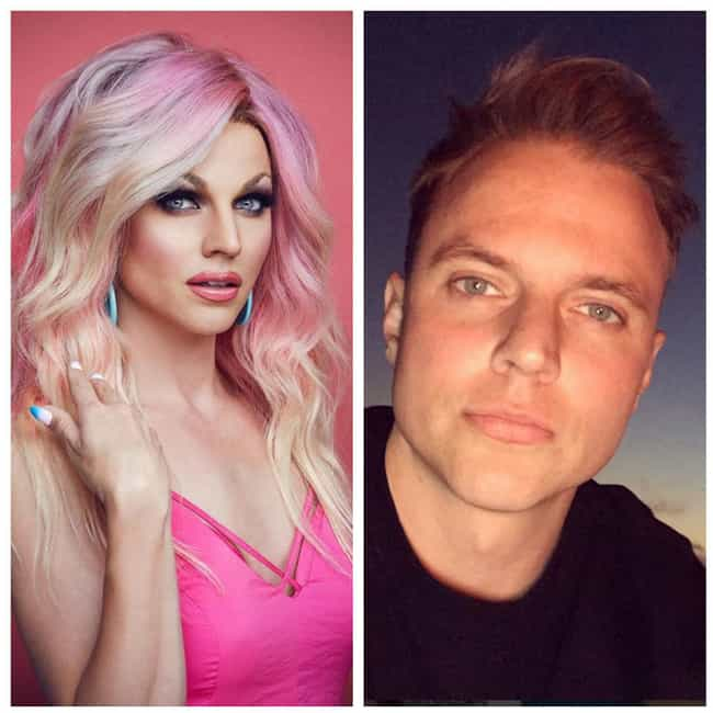 Courtney Act is listed (or ranked) 2 on the list RuPaul's Drag Race Stars With And Without Their Makeup