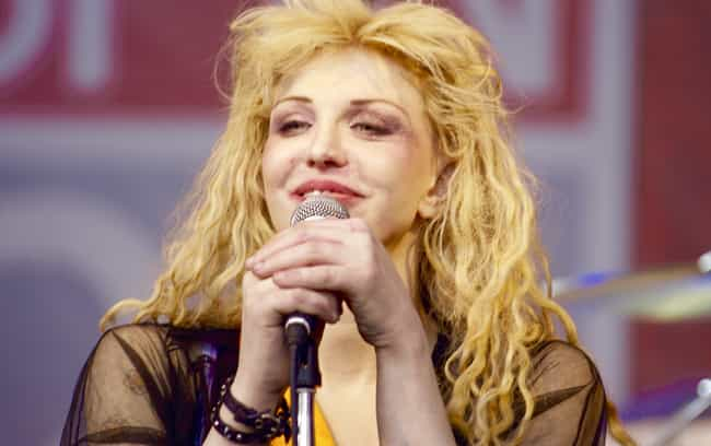 Courtney Love is listed (or ranked) 3 on the list Celebrities Addicted To Oxycontin