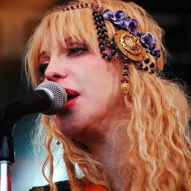 Courtney Love is listed (or ranked) 1 on the list Famous People Born in 1964