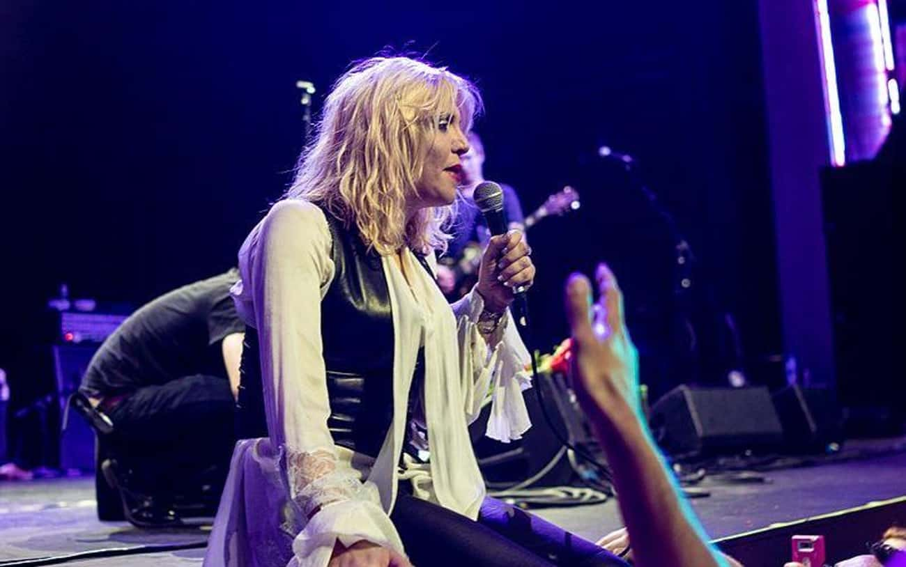 Courtney Love is listed (or ranked) 3 on the list Celebrities Who Got Banned On Social Media