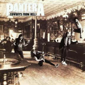 Cowboys From Hell is listed (or ranked) 14 on the list The Top Metal Albums of All Time