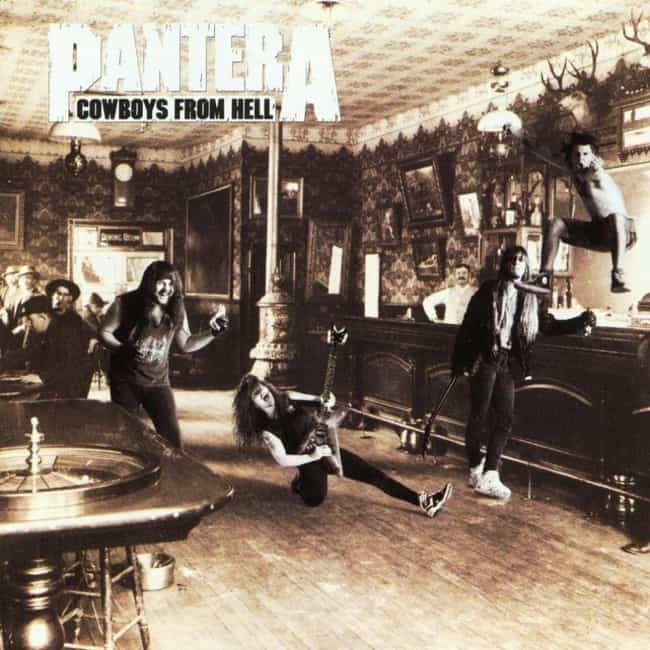 Cowboys From Hell is listed (or ranked) 2 on the list The Best Pantera Albums of All Time
