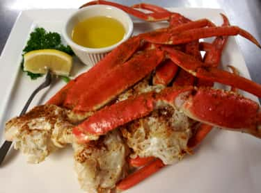 Crab is listed (or ranked) 1 on the list The Best (Non-Fish) Seafood, Ranked