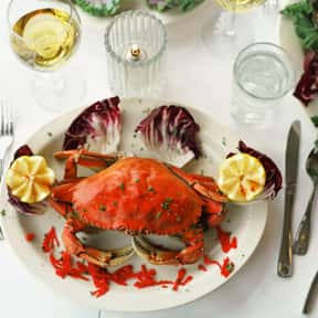 Crab is listed (or ranked) 11 on the list The Best Food Pairings For Chardonnay, Ranked