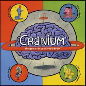Cranium is listed (or ranked) 24 on the list The Best Games for Kids