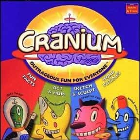 Cranium is listed (or ranked) 17 on the list The Best Family Board Games