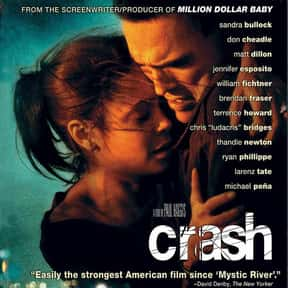 Crash is listed (or ranked) 6 on the list Critically Acclaimed Movies That Kinda Suck
