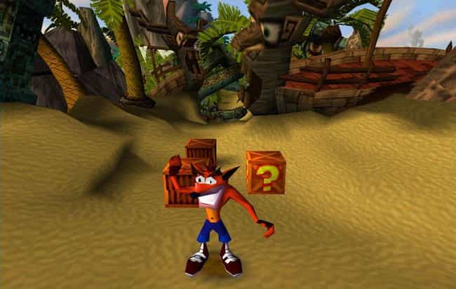 Crash Bandicoot is listed (or ranked) 4 on the list 14 Impossibly Hard '90s Games No Kid Today Could Beat