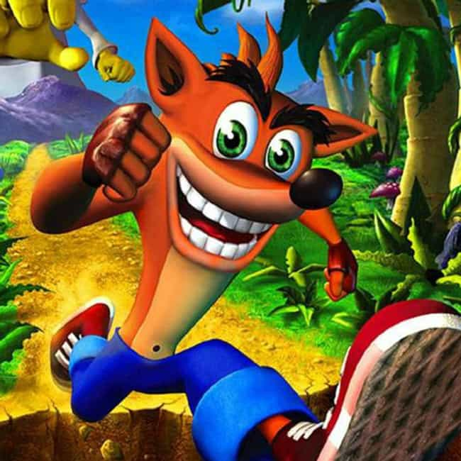 Crash Bandicoot is listed (or ranked) 4 on the list Things Turning 20 in 2016 That Will Make You Feel Super Old