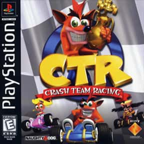 Crash Team Racing is listed (or ranked) 3 on the list The Best PlayStation Racing Games