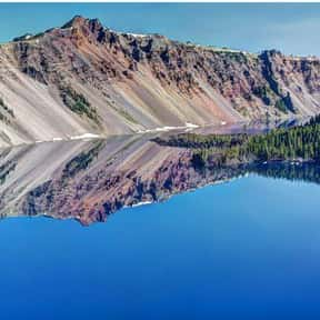 Crater Lake National Park is listed (or ranked) 15 on the list The Best National Parks in the USA
