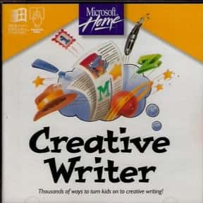 Creative Writer is listed (or ranked) 6 on the list Word Processor Programs, Applications, Systems and Platforms