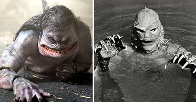 Creature from the Black ... is listed (or ranked) 4 on the list 'The Cabin In The Woods' Monsters Vs. Their Inspirations