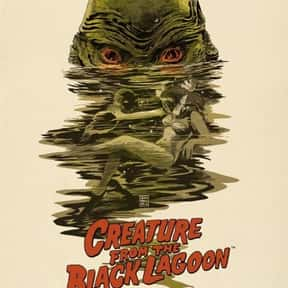 Creature from the Black Lagoon is listed (or ranked) 8 on the list The Best Monster Movies