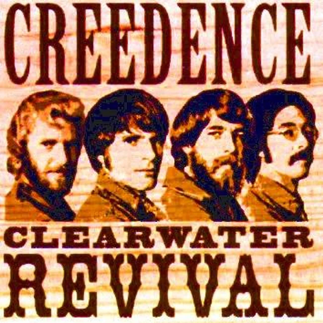 Creedence Clearwater Revival is listed (or ranked) 4 on the list The Best Band Name Origin Stories