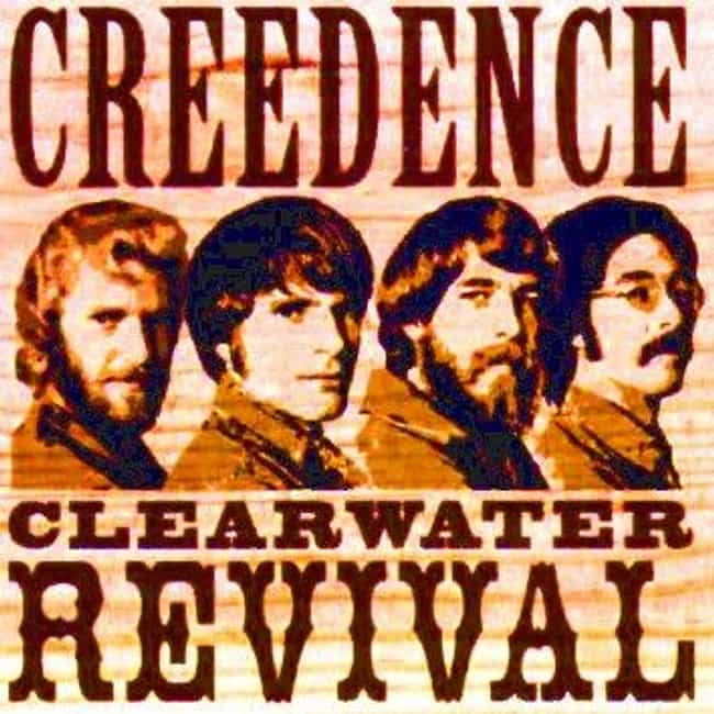 Creedence Clearwater Revival is listed (or ranked) 4 on the list The Best Band Name Origins Stories