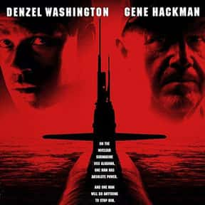 Crimson Tide is listed (or ranked) 10 on the list The Best Denzel Washington Movies