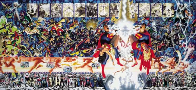 Crisis on Infinite Earths is listed (or ranked) 1 on the list The Best DC Crossover Events