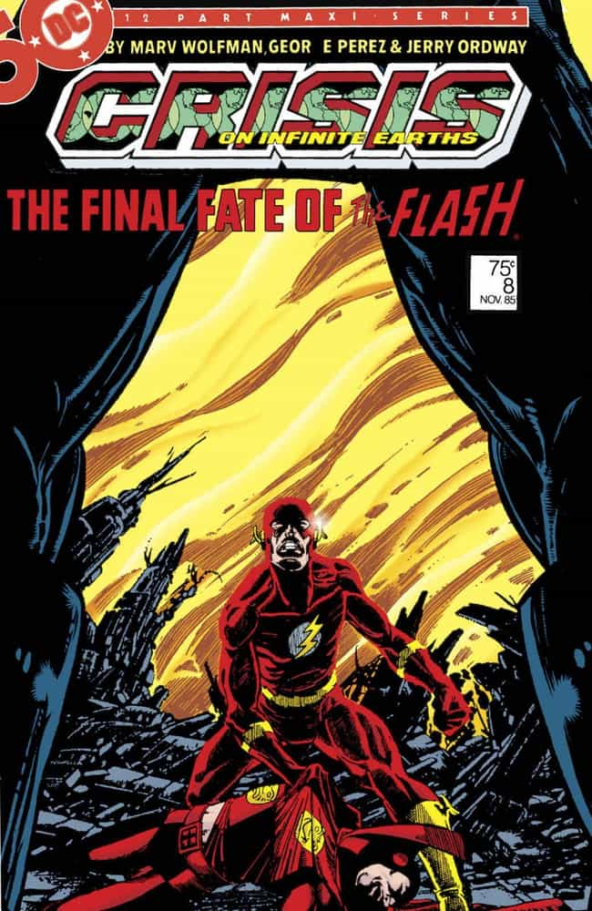 Crisis on Infinite Earth... is listed (or ranked) 4 on the list The Best The Flash Storylines in Comics