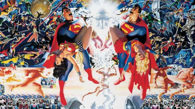 Crisis on Infinite Earth... is listed (or ranked) 3 on the list The Best Justice League Storylines in Comics