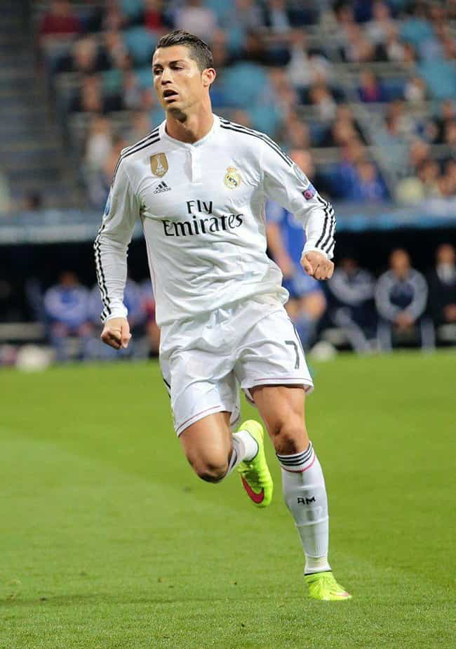 Cristiano Ronaldo is listed (or ranked) 1 on the list 17 Male Athletes Who Model
