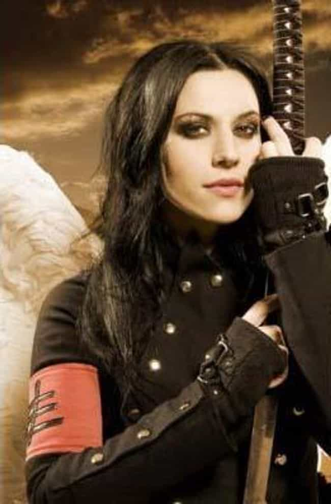 Cristina Scabbia is listed (or ranked) 1 on the list Hottest Chicks In Metal and Punk
