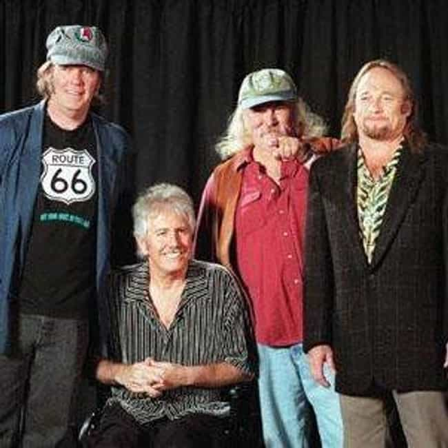 Crosby, Stills, Nash & Young is listed (or ranked) 3 on the list The Best Supergroups Ever Made
